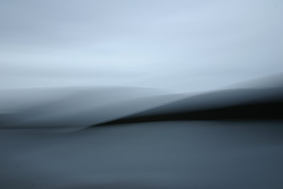 blurred landscape