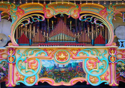 Sheffield Steam Rally, Fairground Organ.