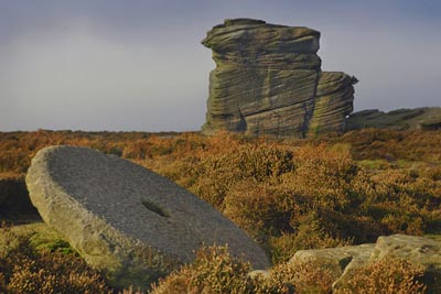 Mother Cap at Millstone Edge in Derbyshire